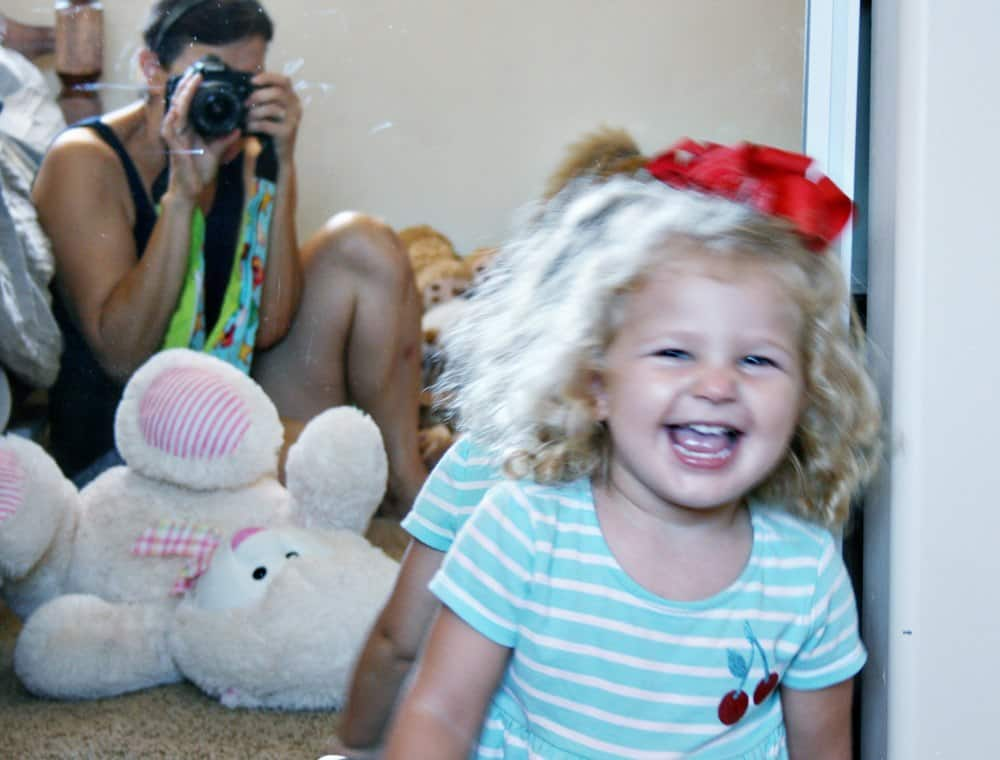 "Raising toddlers isn't only about diffusing temper tantrums and getting through the ""Terrible Twos""! Positive parenting includes looking on the positive side and reveling in the unexpected joys in raising a toddler including newfound independence, silly giggles and increased vocabulary. AD"