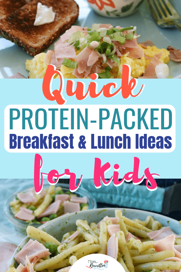 AD These quick, protein-packed breakfast and lunch ideas are kid-approved and fast to make for hurried mornings.