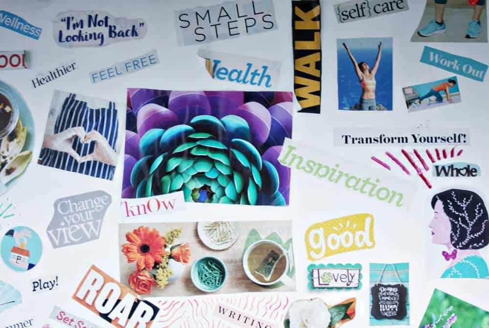 Find out how to keep your health goals at the forefront by creating a vision board that helps you focus on getting fit and staying healthy.