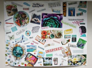 Setting Realistic Health Goals By Creating a Vision Board