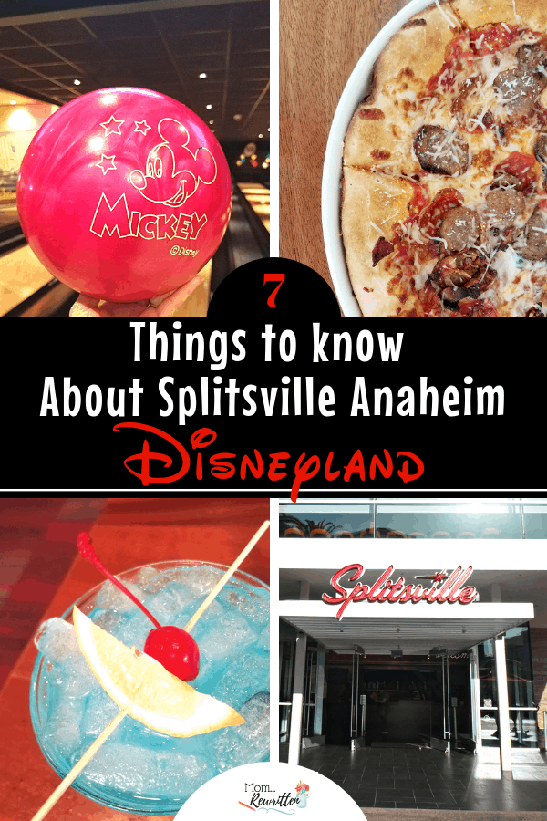 Splitsville Luxury Lanes is a unique retro-themed bowling alley and restaurant that's family friendly. Find out what to eat, when to visit and how to do Splitsville Anaheim with kids | Downtown Disney | Disney | Bowl | Disney Dining | California #Disneyland #Splitsville