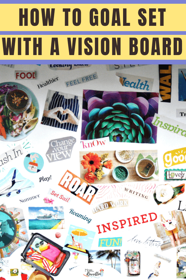Find out how to keep your health goals at the forefront by creating a vision board that helps you focus on getting fit and staying healthy. | Making a Vision Board | Goal Setting | Fitness | Healthy Living | #Aleve #NeverBackDown #CollectiveBias #Cbias #advertisement