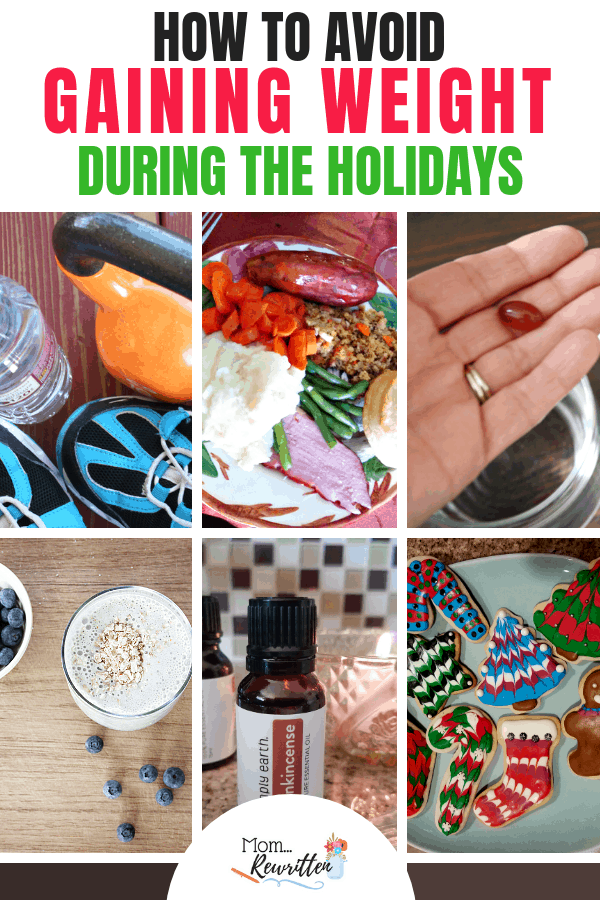 Looking for tips on how to avoid gaining weight during the holidays? These 9 practical ideas can help you maintain (or even lose!) weight during the winter holiday season. Even if you feel like you don't have extra time to commit this Christmas, these easy tips include a few ideas that you might not have thought of! #WeightLoss #Weight #Diet | Losing Weight | Dieting