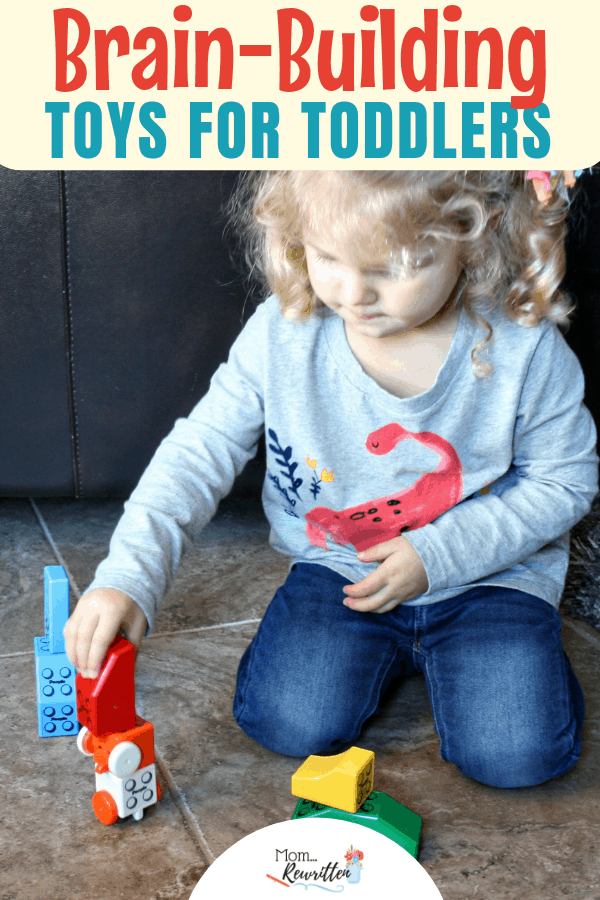 Looking for brain-building and creativity-inducing toddler toys? These open-ended toys offer years of play that will stretch their imagination #STEM #Toys #PeopleBlocks #PeopleToy | Toys for Toddlers | STEM Toys | Kid's Toys | Magnetic Toys